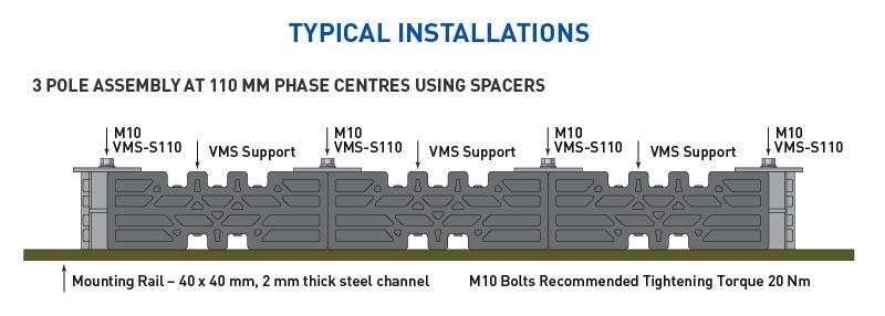 Insulcut-VBS-Busbar-support-2